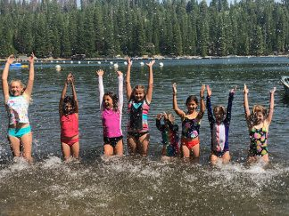 Camp High Five Pinecrest Lake